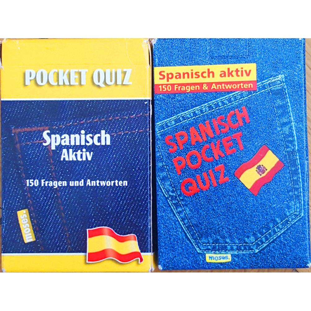 POCKET QUIZ - Spanisch Aktiv