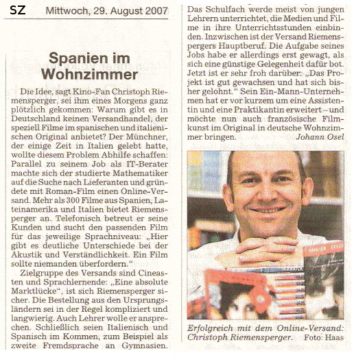 Artikel SZ 2007